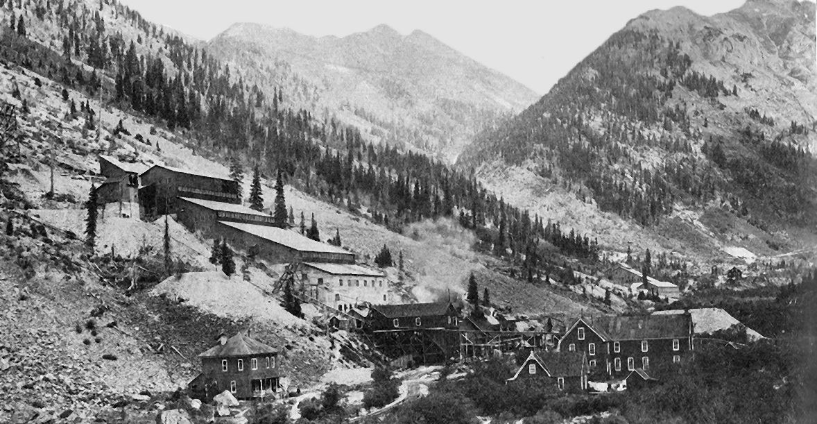 By 1906, The 40 Stamp Mill Was Pounding Out Gold