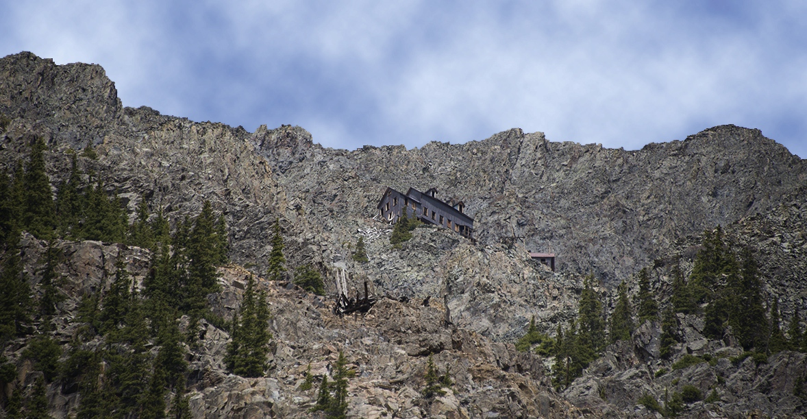 Today's Visitor Can Still See The Preserved Boarding House 2,000 Feet Above The Mine Tour Site.